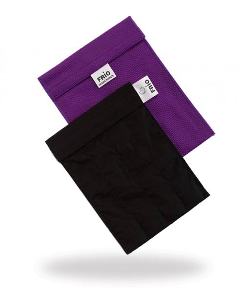 Grand portefeuille violet stylos épi à insuline