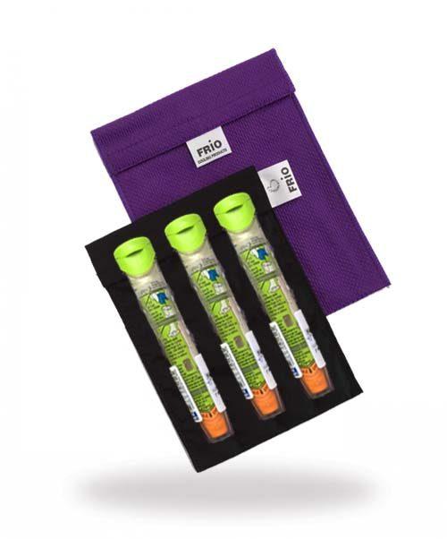 Grand refroidissement à l'insuline violet stylos epi